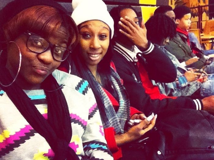 In Gym W/ The Crew