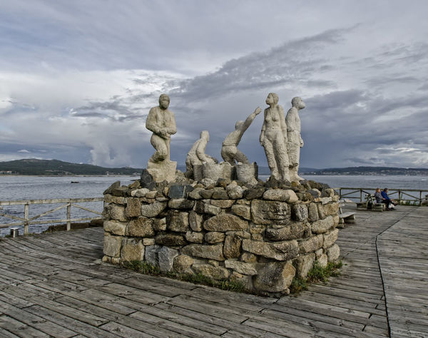 Cloud - Sky Day Mountain Nature No People Outdoors Representing Scenics Sea Sky Statue Water