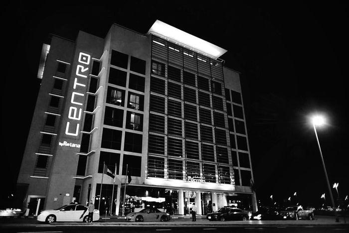 Centro Barsha by Rotana, Dubai, UAE Streetphotography Architecture Cityscapes Blackandwhite