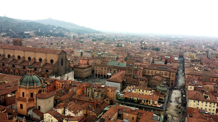 Bologna Torre Degli Asinelli Taking Photos Lanscape Photography Landscape_Collection Urban 4 Filter Urban Landscape The view of my town: Bologna Italy From The Rooftop