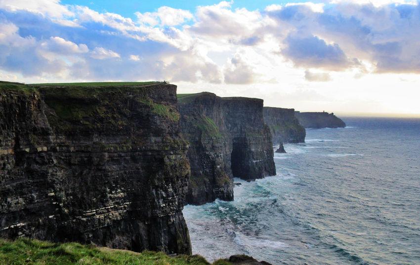Cliffs of Moher, Ireland Cliff Ireland Rock Rock Formation