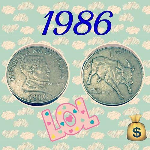 Look what i found in visayas ... Oldcoin MyYear Threedecadesold Missintheolddays Oldschool Sentimode
