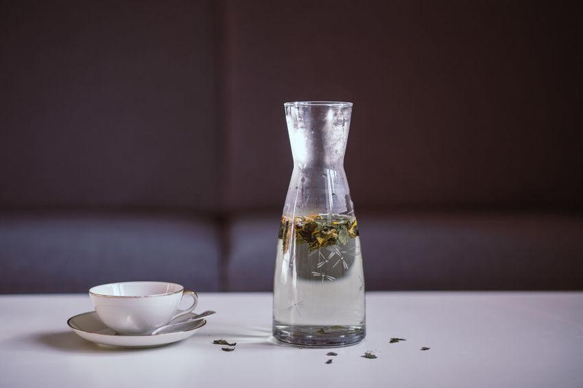 At Home Tea Carafe Drink Fasting Fragile Healthy Healthy Lifestyle Herbal Herbal Tea No People Organic Table Tea Ceremony Tea Cup Vegan