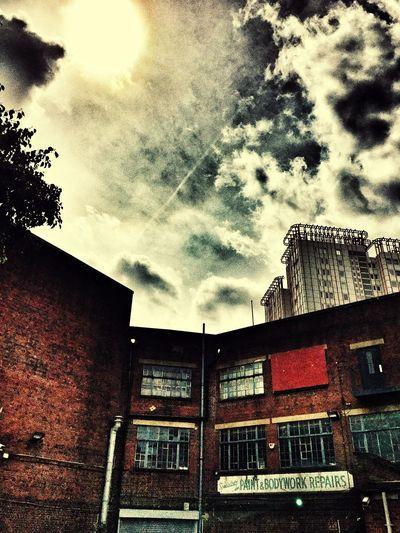 Rear of building on Edgware Road London London Edgwareroad Urban Industrial Warehouse