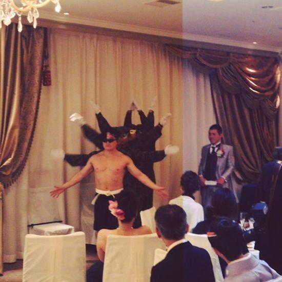 この方々が日本を守ってくれています‼︎ 感謝‼︎ #自衛隊 #習志野クローバーZ Wedding 結婚式 Japanselfdefenceforce 習志野クローバーz 自衛隊