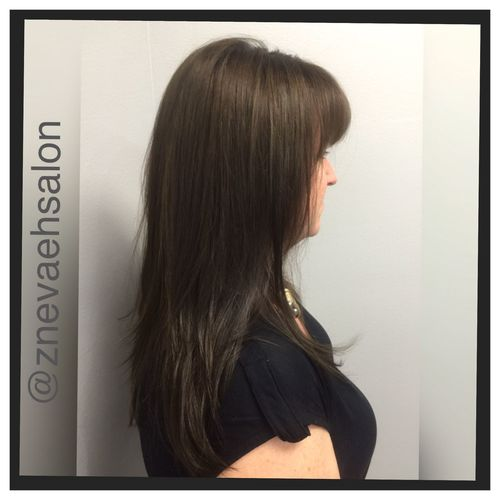 Beautiful Brown Haircolor @znevaehsalon Check This Out Inoa Z Nevaeh Salon L'Oreal Professionnel Hair Style Tecni.art Vitaminoaox