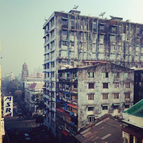 Downtown Ygn Urban Landscape