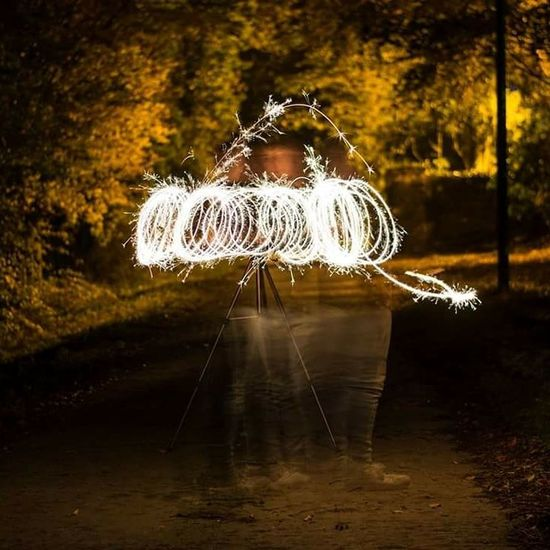 This one took the longest tonget as i had tonslow down somthe sparkler didnt fly off my hand Long Exposure Motion Speed Night Outdoors No People Illuminated Light Ireland🍀 Sparkles EyeEm Best Shots EyeEm Selects Danger Circle Sky