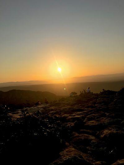 sunset Chapada
