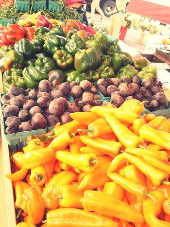 So colorful! Fresh Produce