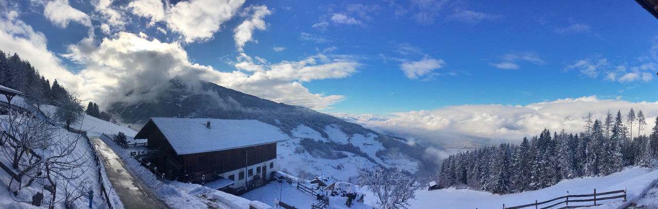 Winter in Tirol, Austria. Alps Austria Cold Cold Temperature Composition Geology Landscape Mountain Mountain Range Non-urban Scene Panorama Perspective Physical Geography Remote Scenics Snow Snowcapped Tirol  Tranquil Scene Tranquility Valley Weather Winter Winter Winter Trees