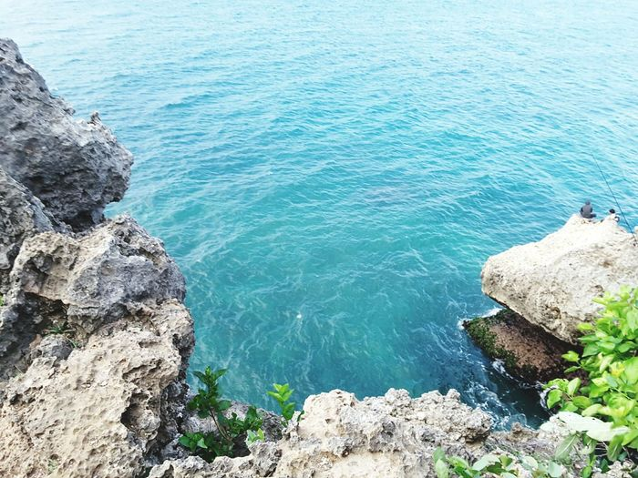 blue sea Nature Cliff Hanging Out Fisherman Bali, Indonesia Vacations