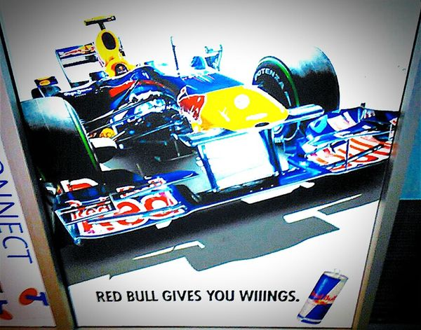 Red Bull Red Bull Racing F1 Car RED BULL GIVES YOU WINGS Streetphotography Red Bull Gives Me WINGS Red Bull Racing Redbull Racing RedBull Sign Streetphoto_color