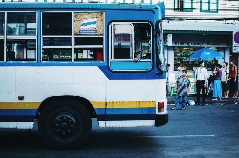 Bangkok streets. Taken with Zenit ET film camera. Bangkok Streets By ArtCam Open Edit Urban Exploring 35mm Popular Photos Street Learn & Shoot: Leading Lines Tadaa Community Whats The Bus? RePicture Travel