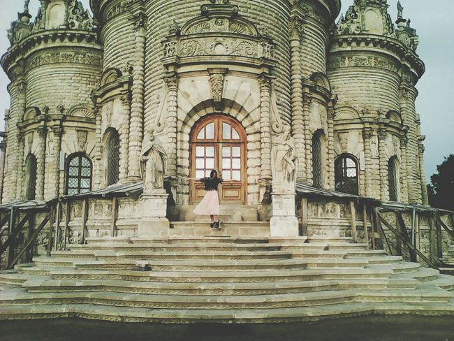 Vintage Podolsk Beatiful Today Architecture Little Girl Magic Russian Taking Photos Cute