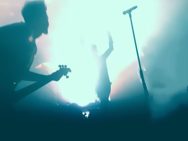 The rise from the shadows Performance Music Arts Culture And Entertainment Real People Nightlife Stage - Performance Space Skill  Popular Music Concert Modern Rock Electric Guitar