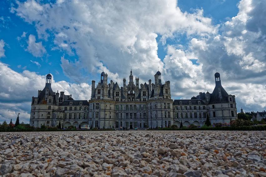 Chateau De Chambord Architecture Building Exterior Built Structure Château Cloud - Sky Day No People Outdoors Sky Travel Destinations
