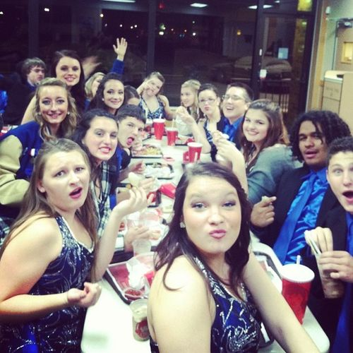 The last supper ?? Showchoir