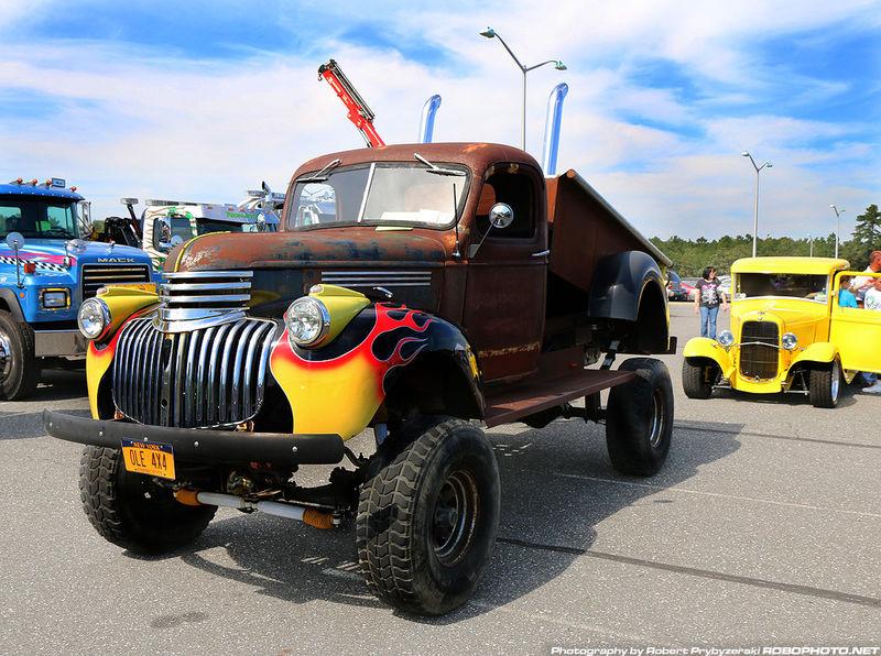 Rat truck rod. RatRod Flames Taking Photos HotRod Pickup Truck