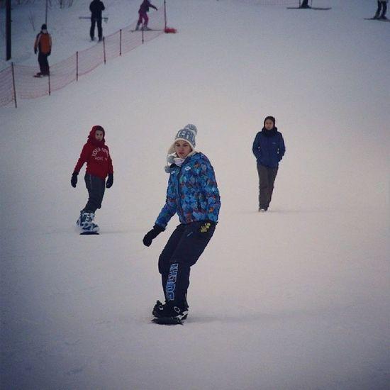 выходной прошел отлично:) октябрьский сноуборд Snowboard оторвались