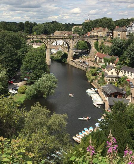 Knaresborough Viaduct Knaresborough Castle Water Plant Built Structure Bridge Connection Architecture Bridge - Man Made Structure