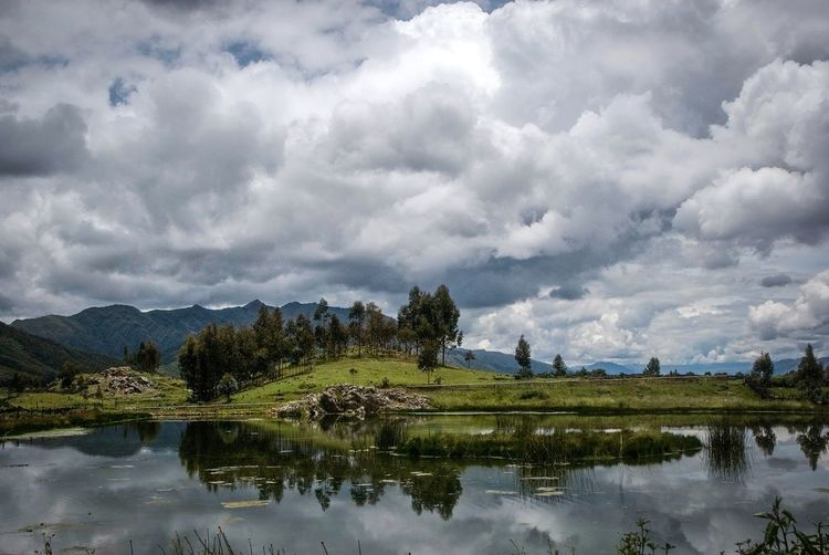 Peru Sky Water