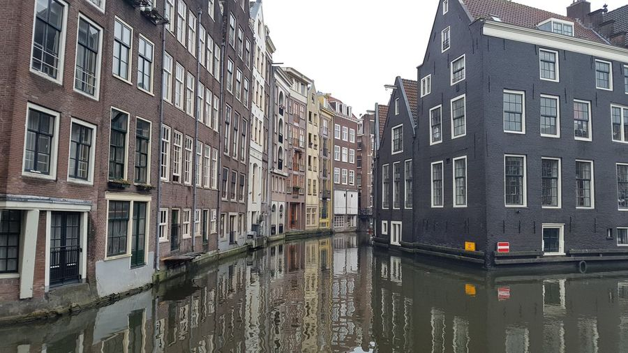 Building Exterior Architecture Built Structure City Travel Destinations Outdoors Water No People Day Sky amsterdam Amsterdam Gracht