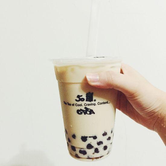 珍珠奶茶❤️Bubble milk tea Drinks Drinking Pearl Milk Tea Bubble Milk Tea Milktea 珍珠奶茶 Taiwan Enjoying Life 50嵐