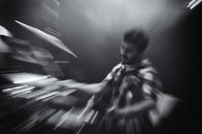 Black & White Concert Photography Drummer Festival Season Music No Focus Zoom Zoomeffect