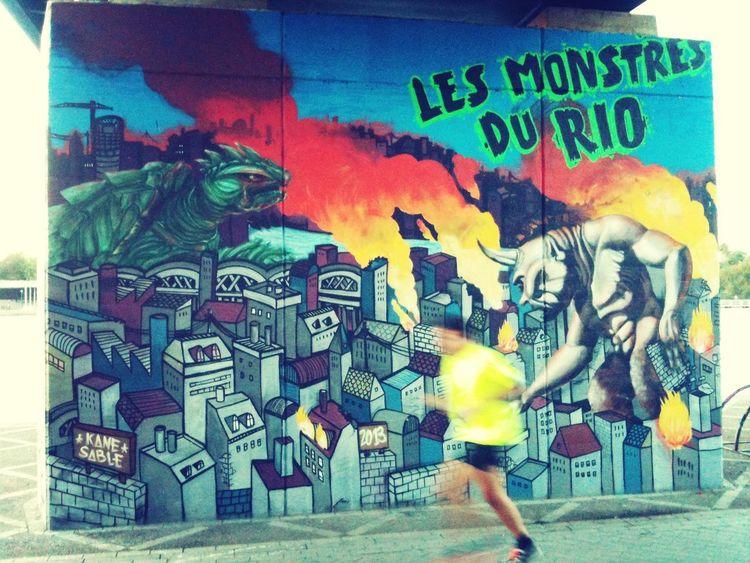 Streetart en una ciudad con mucho arte