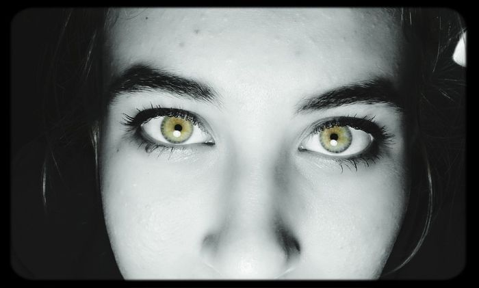 My eyes :3 Girl Color Portrait Cool Eye's