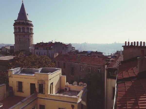 Galatatower Galatakulesi Enjoying The View Urbanphotography