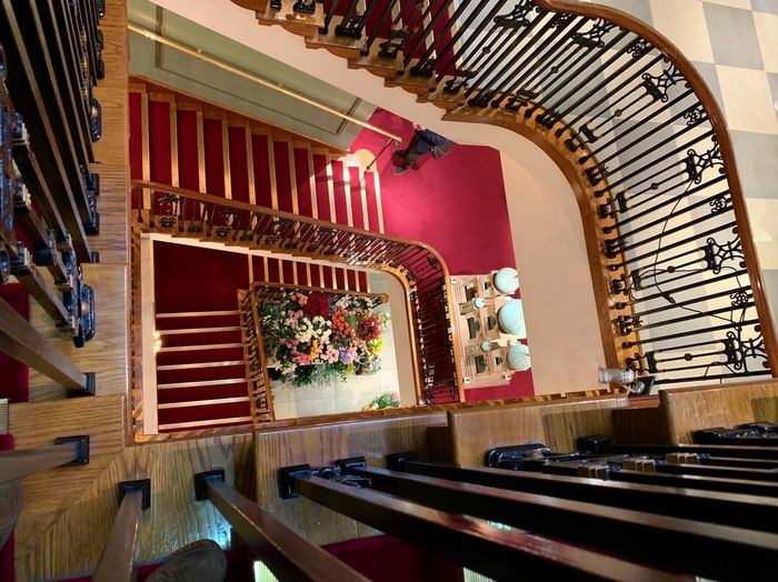 Fortnum & Mason London Department Store Architecture Built Structure Indoors  Railing Staircase Illuminated Building No People Steps And Staircases Arts Culture And Entertainment Architectural Feature Design Ornate