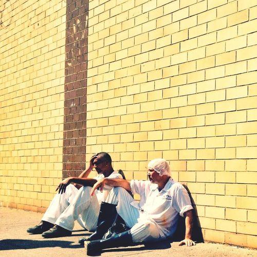 On Break Streetphotography Looking Tired In My Hood