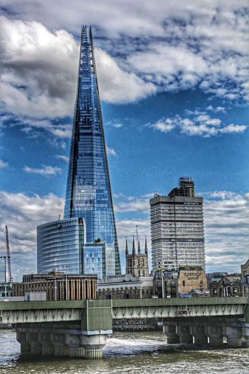 London The Shard Building Modern Architecture Another clock in London and a big Shard ???✌️