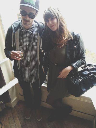 Outfit #OOTD My Boyfriend ❤ Longchamp The Kooples