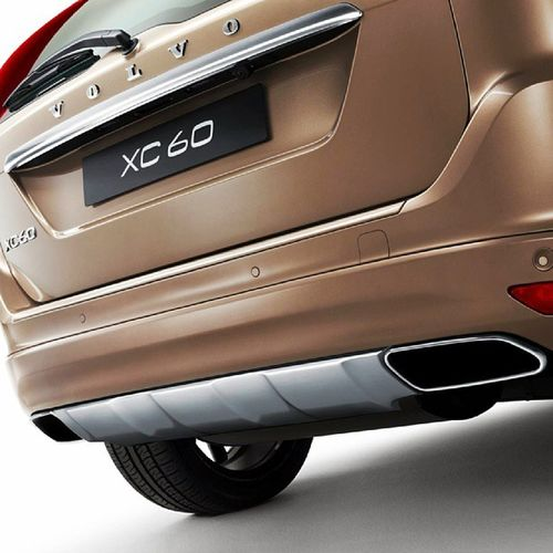 Intergrated Tailpipes New Volvo XC60 Yearmodel 2014 VolvoCars VolvoCarCorporation VolvoCarsShowroom Stockholm Sweden