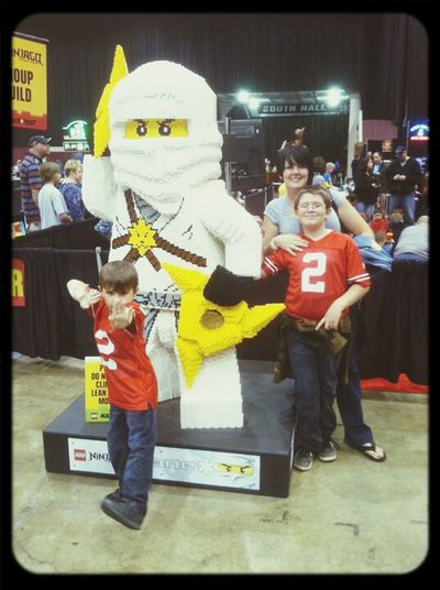 Old Pic  Legofest We Love Legos Me And My Sons