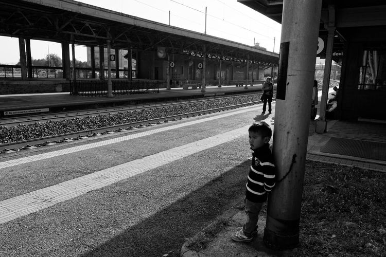 Transportation Railroad Station Public Transportation Day Outdoors Zörk People Children Photography