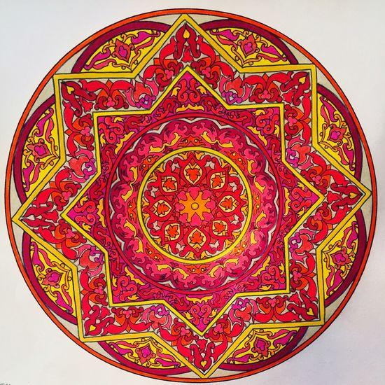 Mandala Draw Drawing Coloring Coloring Mandalas!  Hello World Enjoying Life Relaxing ❤ Happiness Gratitude Paceful Home Home Sweet Home Hogar Hogar Dulce Hogar..