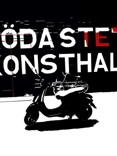 Digital painting. Scooter The Week On EyeEm Art Artcentre Black And White Contemporary Ink Rödasten