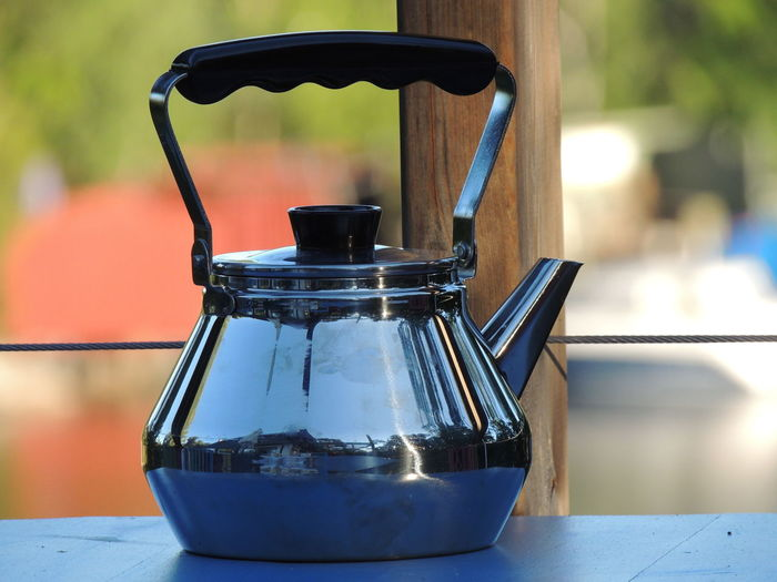 Swedish coffee cooked in coffee pot. Coffee Swedish Coffee Swedish Handicrafts Coffe Coffee Pot Food And Drink Stainless Steel  Stockholm Archipelago First Eyeem Photo