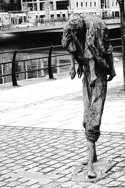 Liffey Statue Famine Dublin Dublin Street Photography Dublin, Ireland Dublin City Dublinstreets DublinToday