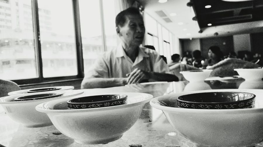 This relative's dad and my mother's grandfather were brothers. Relative Teacups Jiangmen Guangdong China Travelphotography Streetphotography