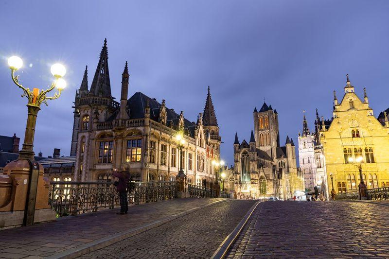 Lights in Gent