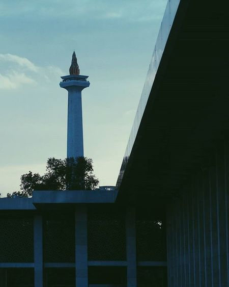 Home 🌏 © Jakarta Explorejakarta Exploreindonesia INDONESIA Monas Monumen Nasional Istiqlal Mosque Travel Green Sunset P5fi P5 VSCO Lines Monuments InD Photohraphy Insights Peace Peaceful Blue Settings Contrast 1x8 instavibe instagram shareyourlandscape