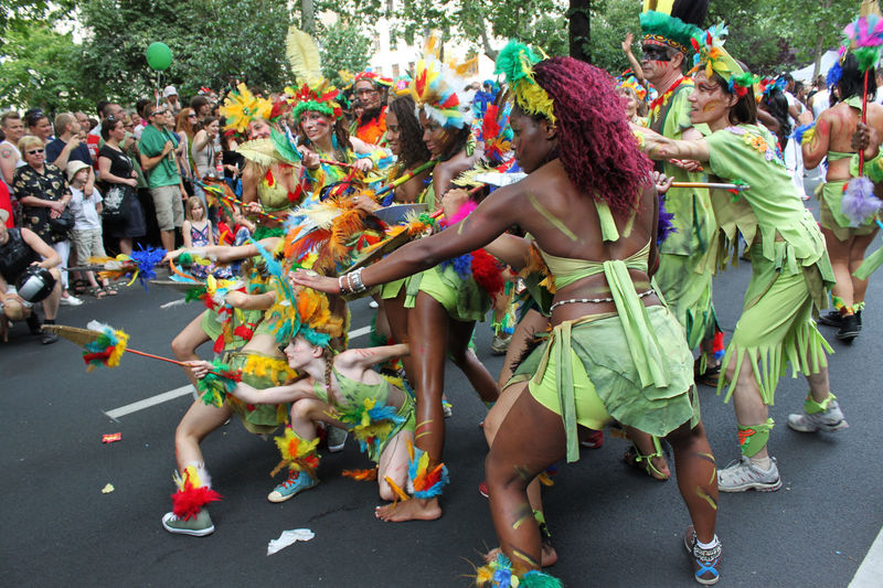 a group of girls and women on a street in Berlin Amazone Berlin Carnival Colorful Crowd Cultures Dancing Enjoyment Festival Fun Fun Karneval Der Kulturen Large Group Of People Lifestyles Outdoors Speer Street Street Photography Streetphotography