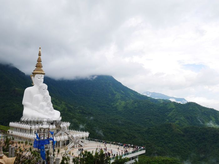 Pha Sorn Kaew Temple Thailand Temple Mountain Temple-mountain High Angle View KhaoKho,Thailand Big Buddha Temple Big Buddha, Thailand Temple Thailand Beuty Of Nature