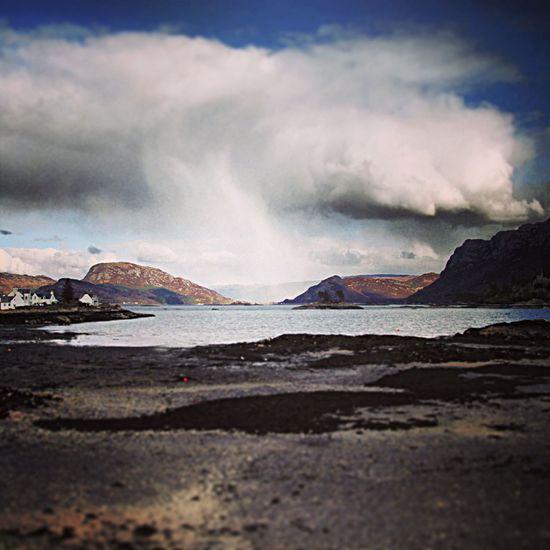 Plockton Scotland Beach Scotland Clouds Plockton