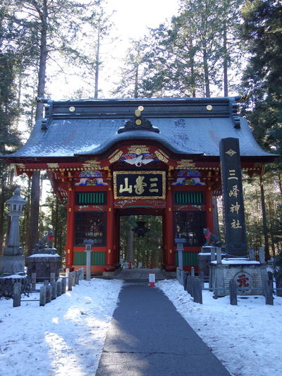 三峯神社といえば、自分的にはやっぱここかな。フォトジェニックでうっとり。 三峯神社